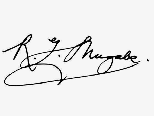 Point or Dash in signature