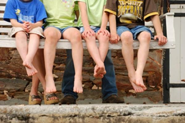 Predict Future by Children's Leg