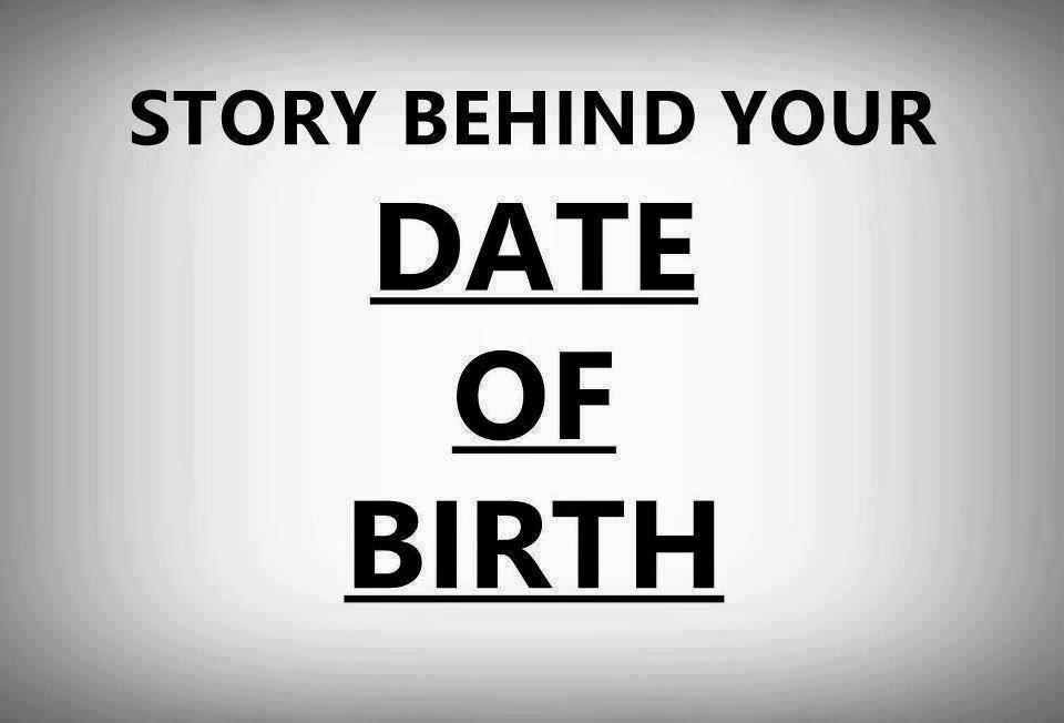Story Behind Your Birthdate