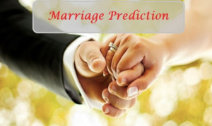 marriage prediction date of birth